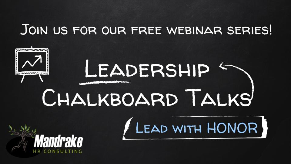 Chalkboard Leadership Sessions